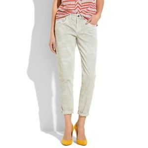 Madewell Boycord Jeans Ankle Pants